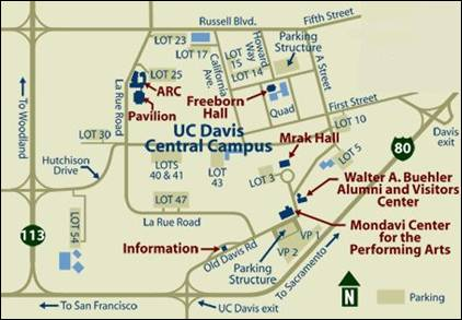 detail map of the quad area